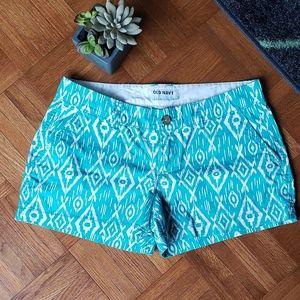 Old navy Aztec print shorts